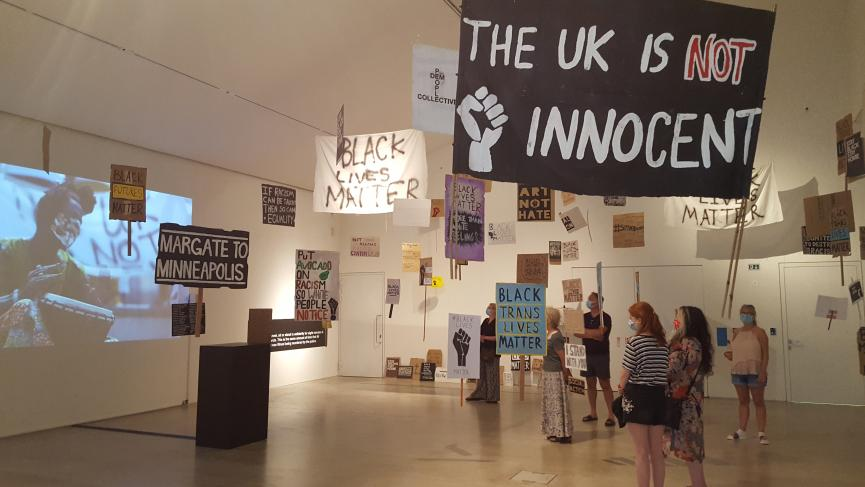 People Dem Collective's exhibition at Turner Contemporary