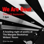 We Are Beat Poetry Night